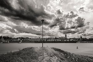 Wolken boven Nijmegen van