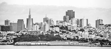 Harbor Skyline San Francisco von Wouter Goedvriend