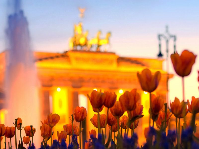 Berlin - Pariser Platz van Alexander Voss