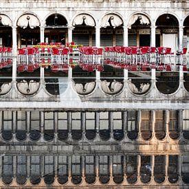 Miroir à la place Saint-Marc sur Andreas Müller