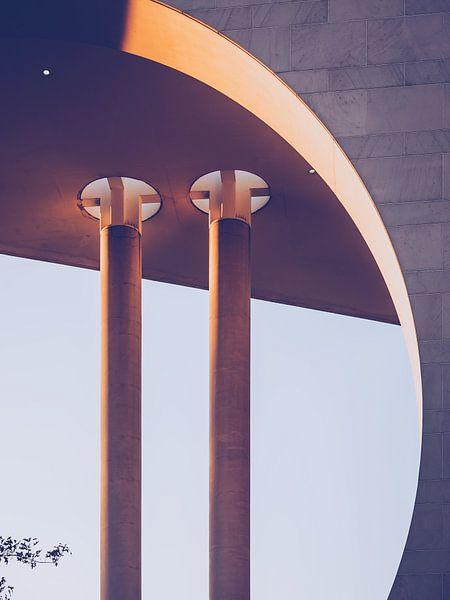 Architectonische Fotografie: Berlijn - Kanzleramt van Alexander Voss