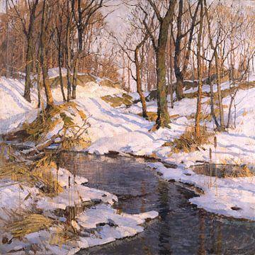 Frederick John Mulhaupt-Februar-Sonne.
