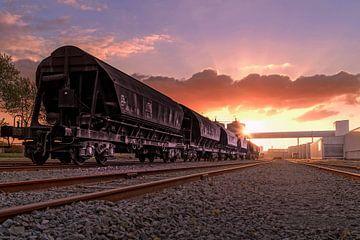 sunset-express sur Ruben Van der Sanden