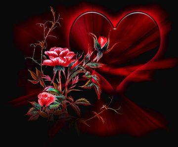The mysterious rose   van Dusanka Djeric