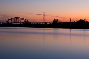 Spoorbrug in Arnhem Zuid