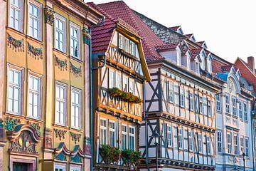 Altstadt von Mühlhausen in Thüringen von Werner Dieterich