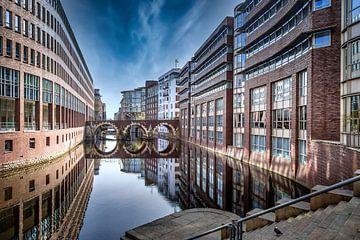 Hamburg - Ellerntorsbrücke von Sabine Wagner