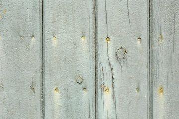Oude planken met roestige spijkers van Shot it fotografie