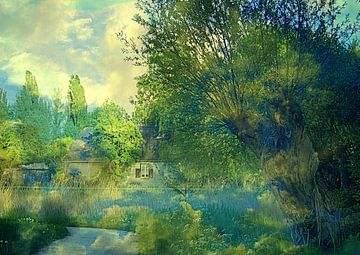 Oud Hollands landschap van Anita Snik-Broeken