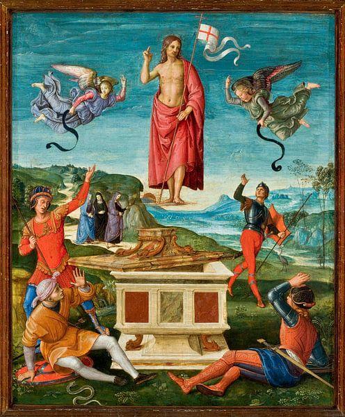 Die Auferstehung Christi, Rafaël von Meesterlijcke Meesters