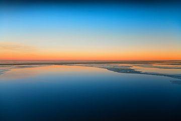 Bevroren fjord van BVpix