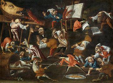 Meester van de vruchtbaarheid van eieren, 17e eeuw van Atelier Liesjes