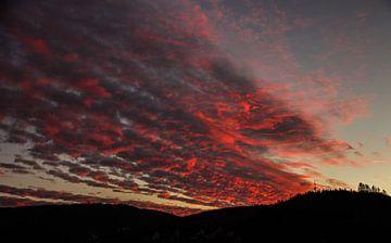 De hemel staat in brand van Robin Feldmann
