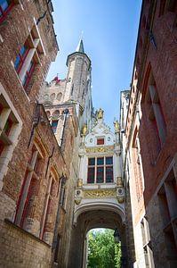 Poortje in Brugge van Mark Bolijn