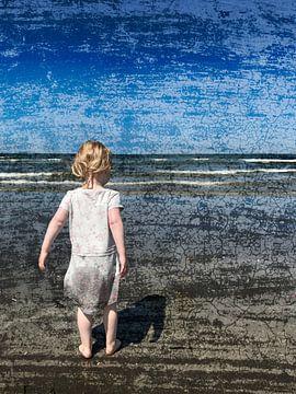 Eenzaam meisje van Lida Bruinen