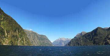 Milford Sound Neuseeland von Anne Vermeer
