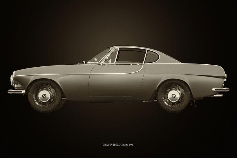 Volvo P 1800S Coupe 1961 van Jan Keteleer