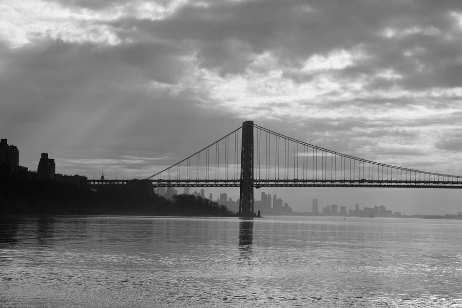 George Washington Bridge New York van Guido Akster