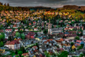 Nouvelle ville de Titisee sur Jürgen Wiesler