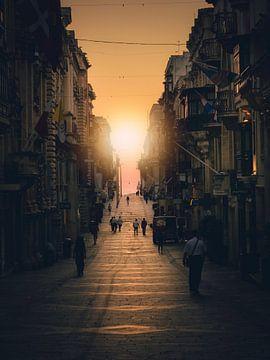 Straten van Valletta van Iman Azizi