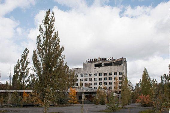 Pripyat hotel van Tim Vlielander