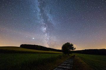 Melkweg in het Erzgebergte van Ronny Rohloff