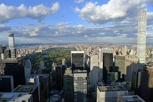 Uitzicht op Central Park van