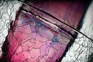 Glas abstractie van Steve Van Hoyweghen