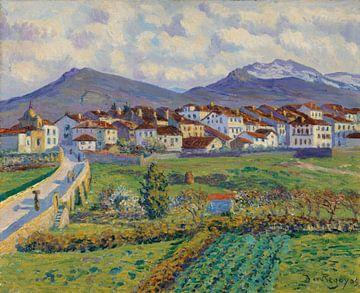 Darío de Regoyos~Landschaft bei Hernani