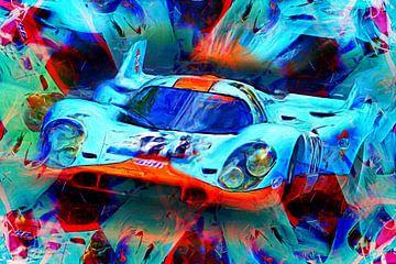 Een legende - Porsche 917k van Jean-Louis Glineur alias DeVerviers