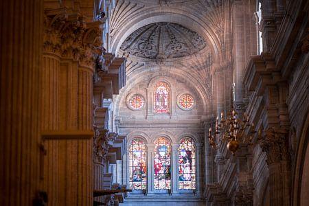 Malaga Cathedral von Maarten Jacobi