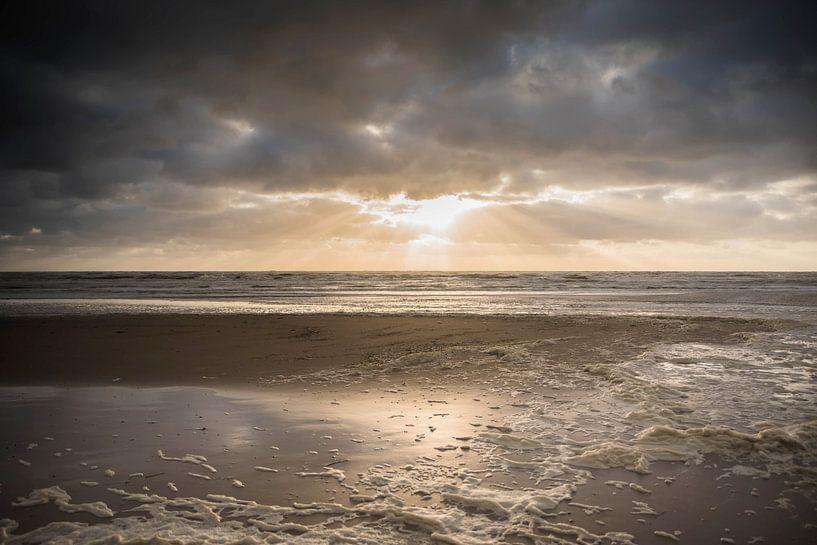 Zonsondergang in Zandvoort von Mascha Boot