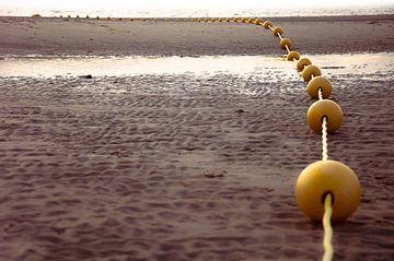 Follow the Yellow balls van Sonja Pixels