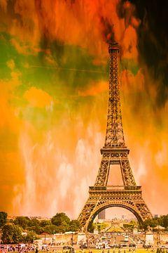 Paris in Flammen von Günter Albers