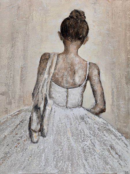 Na het ballet van Christian Carrette
