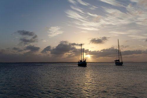 Zeezicht Bonaire van
