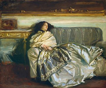 Nonchalous (repos), John Singer Sargent - 1911 sur