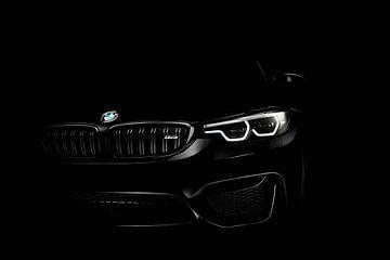 BMW M3 2018 BW van