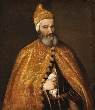Porträt von Marcantonio Trevisan, Dogen von Venedig, Titiaan