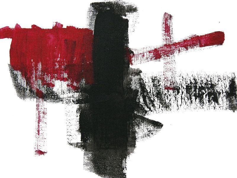 Mickey's Black and Red van Toekie -Art