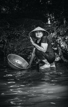 Vriendelijkheid aan de rivier van Joris Pannemans - Loris Photography
