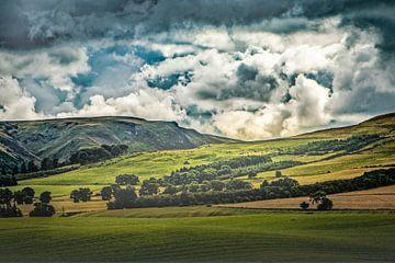 mächtige Wolken von Freddy Hoevers
