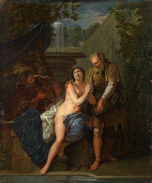 Susanna and the Elders, Nicolas Bertin sur