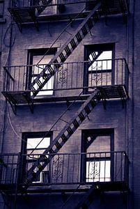 New York USA - brandtrappen van Mark de Boer - Artistiek Fotograaf
