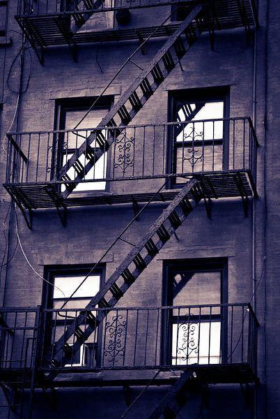 New York USA - brandtrappen