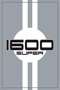 Porsche 1600 Super, racewagenontwerp van Theodor Decker