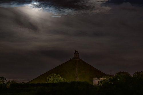 Een nachtelijke Leeuw van Waterloo