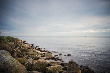Uitzicht over het IJsselmeer van Jolien Kramer