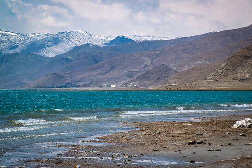 Bergmeer in de Himalaya, Tibet