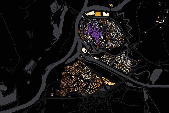 Kaart van doesburg abstract